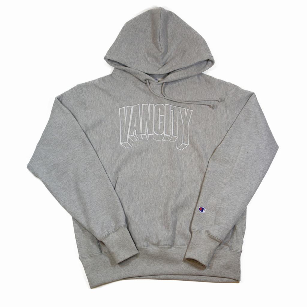 Dimensions Premium Reverse Weave Hoodie - Athletic Grey