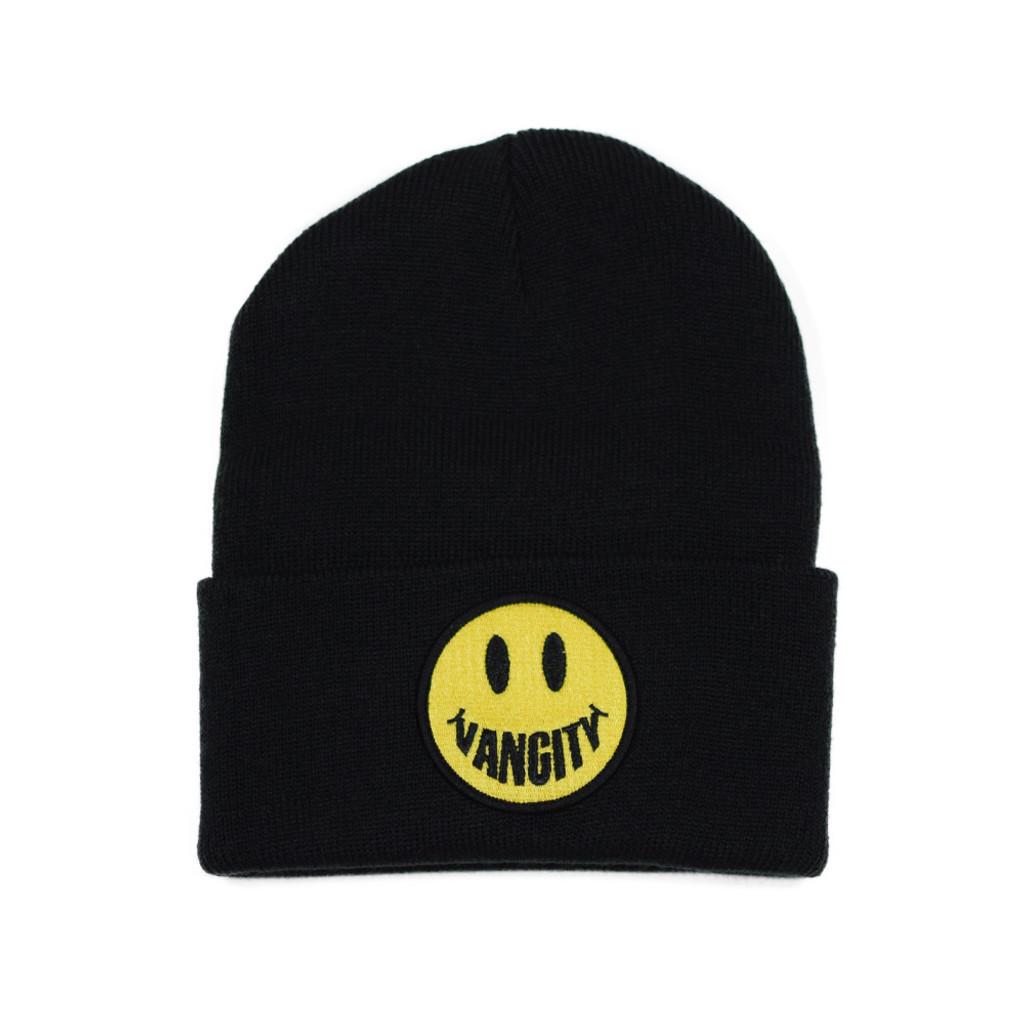 Vancity Smile Beanie - Black