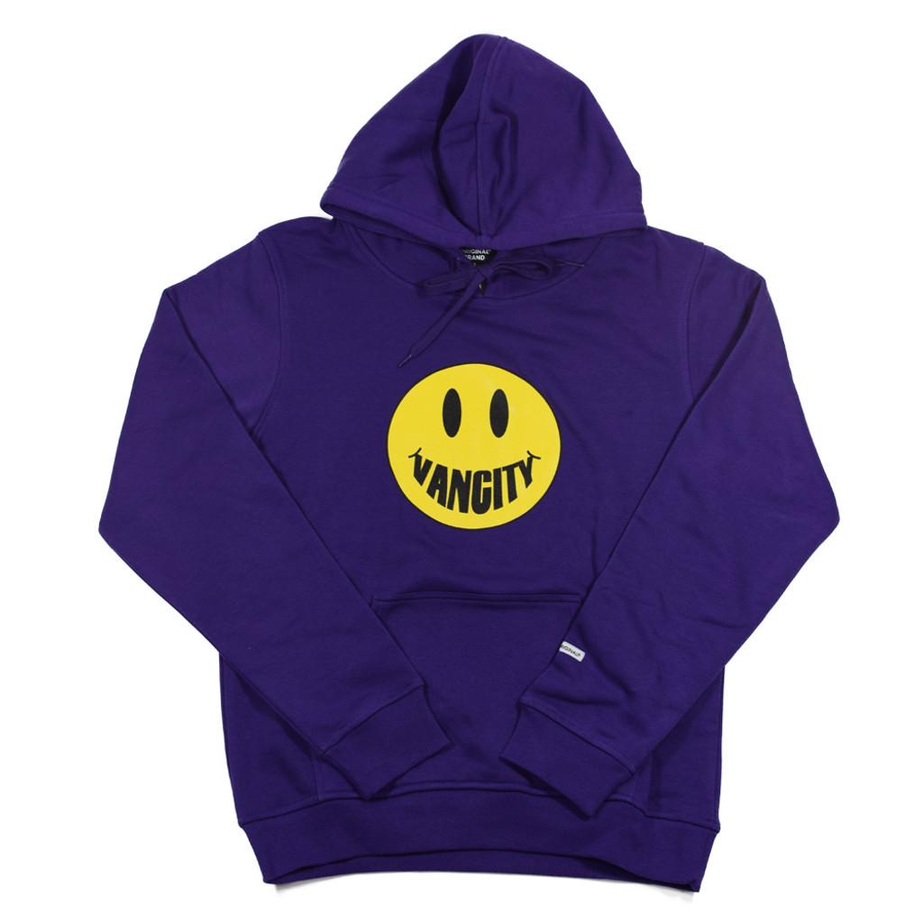 Vancity Smile Hoodie - Purple