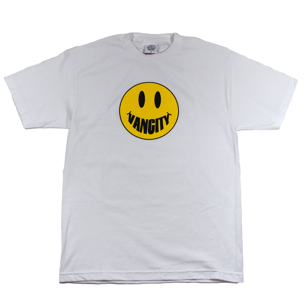 Vancity Smile Tee - White