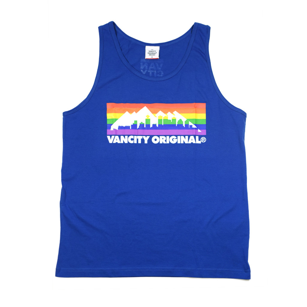 Pride Skyline Tank Top - Royal Blue
