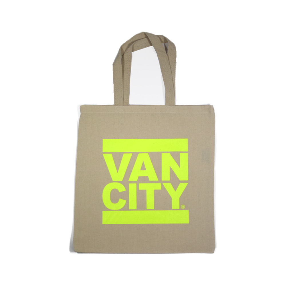 Classic UnDMC Tote Bag - Natural Neon