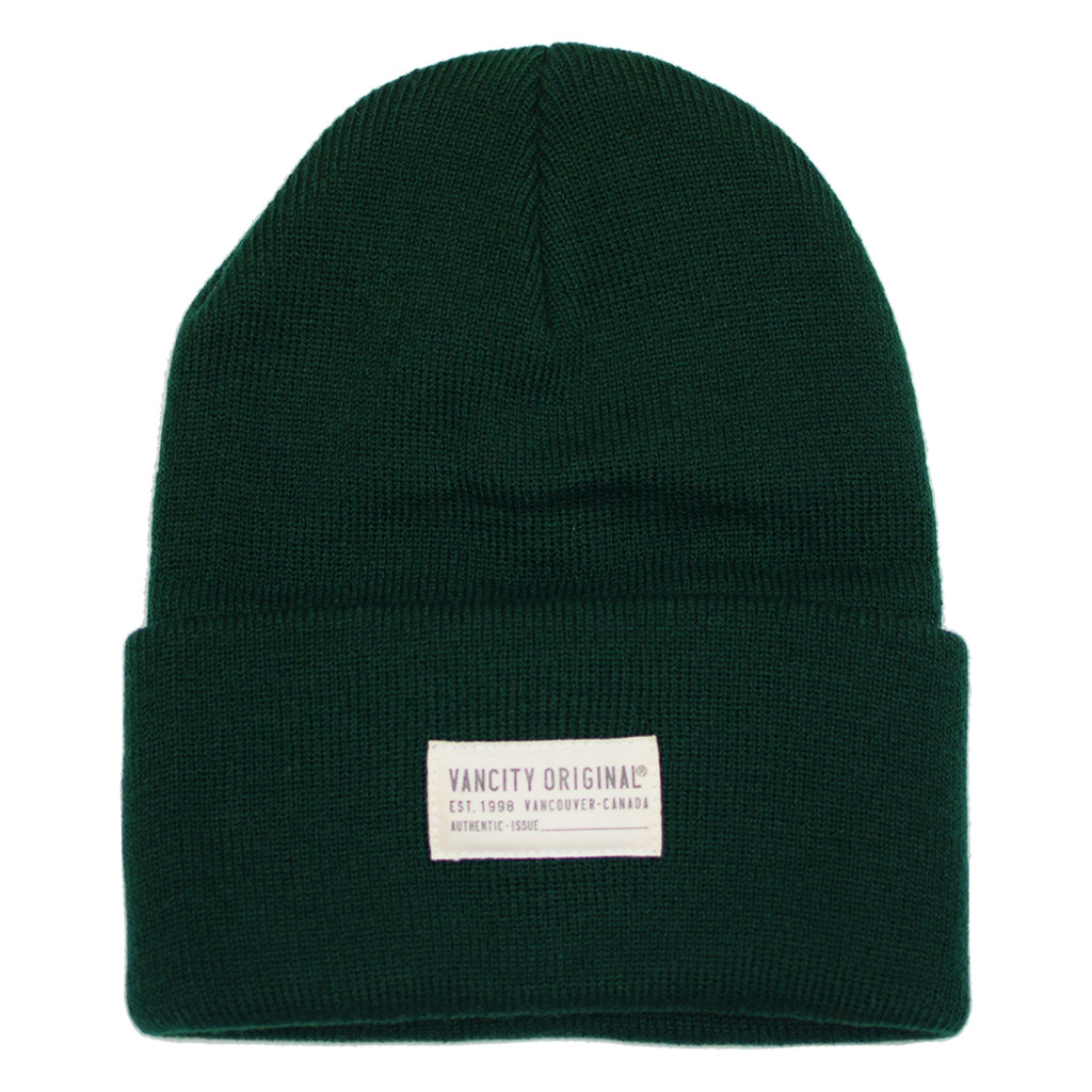 Authentic Issue Beanie - Hunter Green