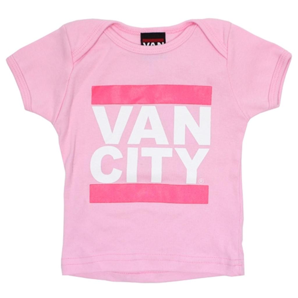 Vancity Original Baby Tee - Pink