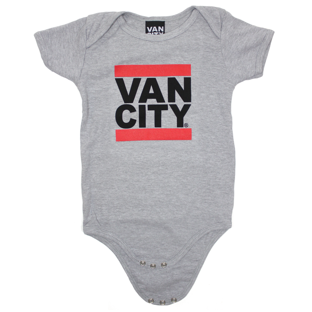 Baby Onesie - Heather Grey