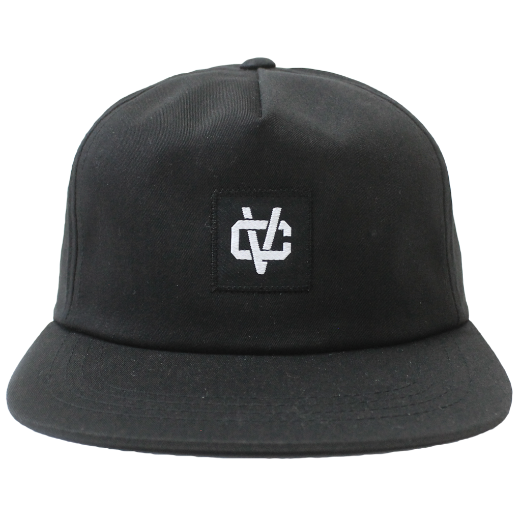 VC Link Unstructured 5-Panel Snapback - Black