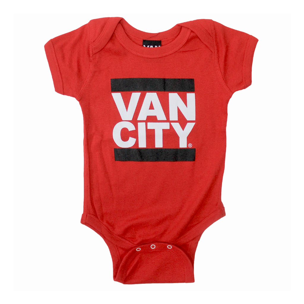 Baby Onesie - Red