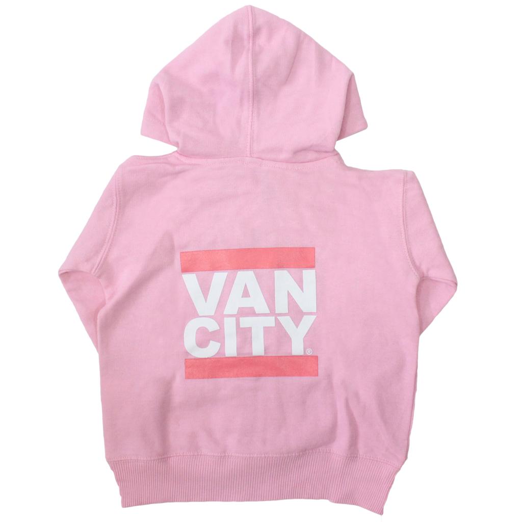 Vancity® Baby Zip Up Hoodie - Pink