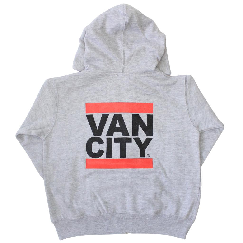 Vancity® Toddler Zip Up Hoodie - Heather Grey