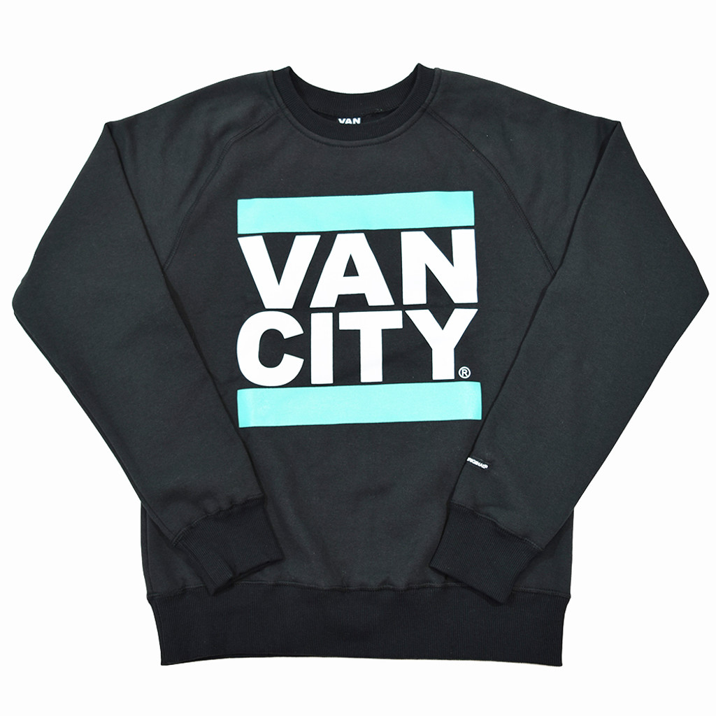 New Classic Fit UnDMC Crew Sweatshirt - Dark Grey/Teal