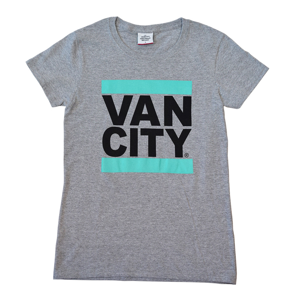Women's Classic UnDMC Tee Shirt - Heather Grey/Teal