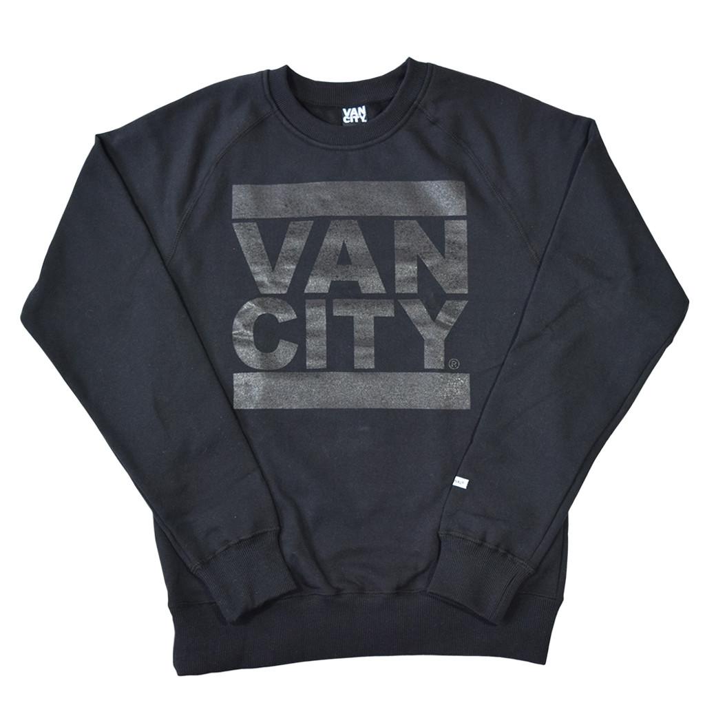 Blackout Crew Sweatshirt - Black