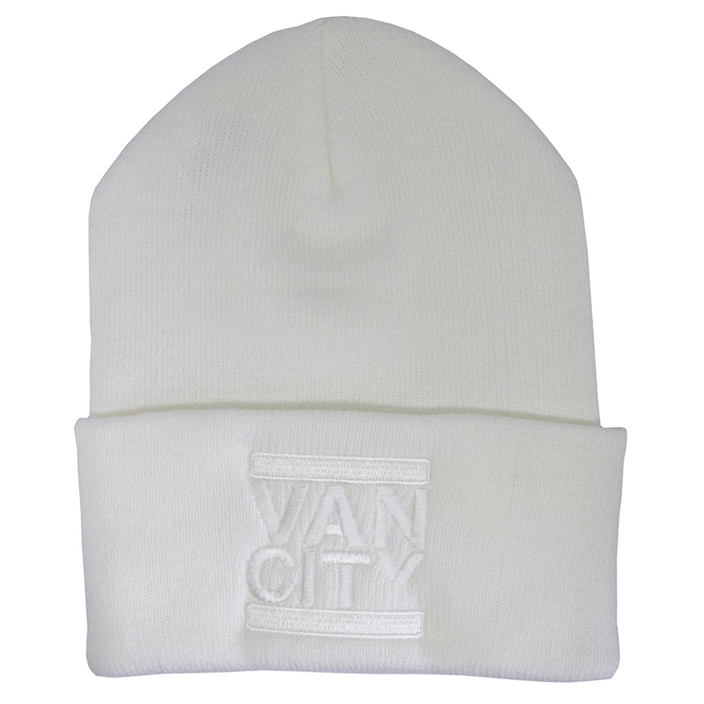 Monochrome Neutrale Beanie - White