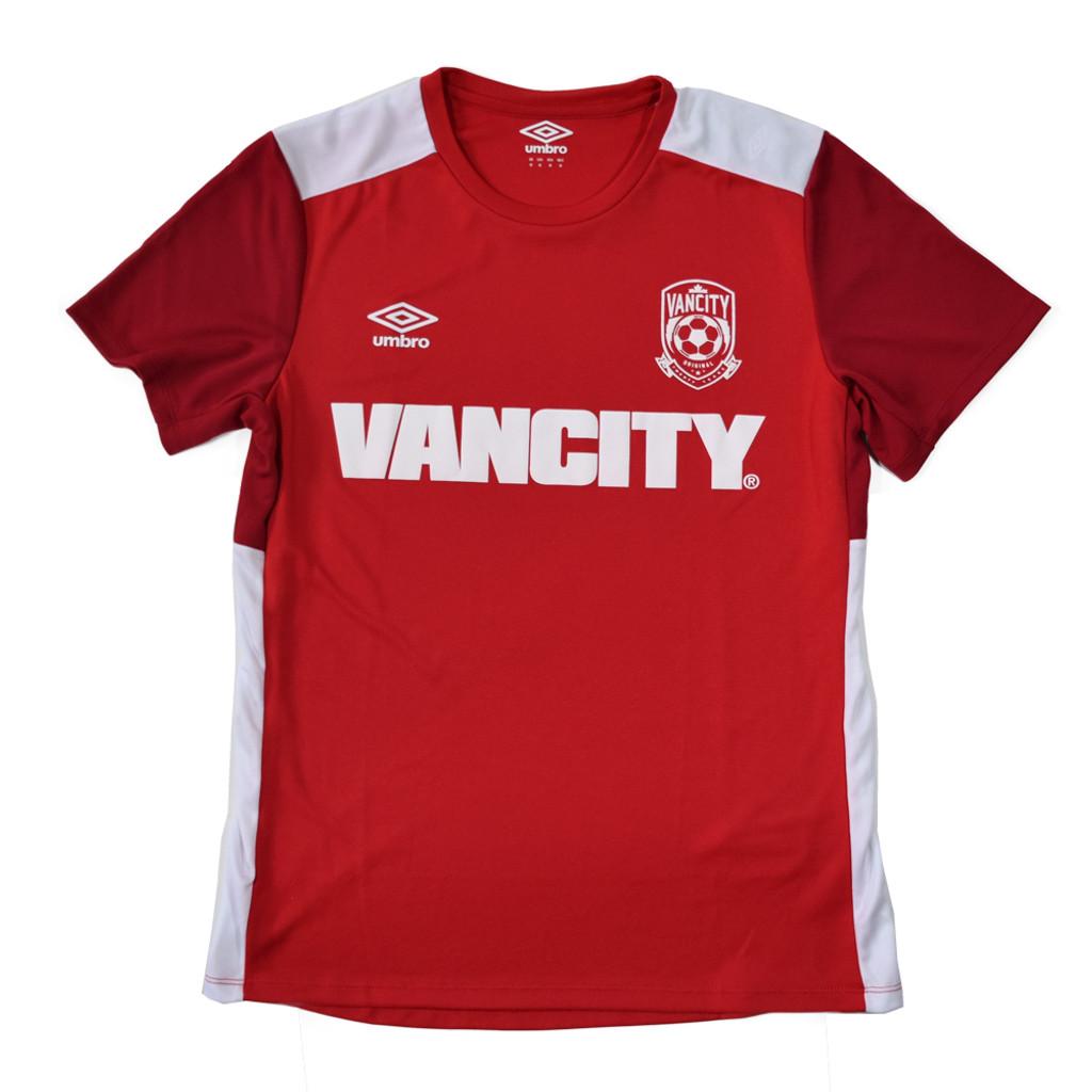 Vancity Original® x Umbro Tactic Jersey - Red