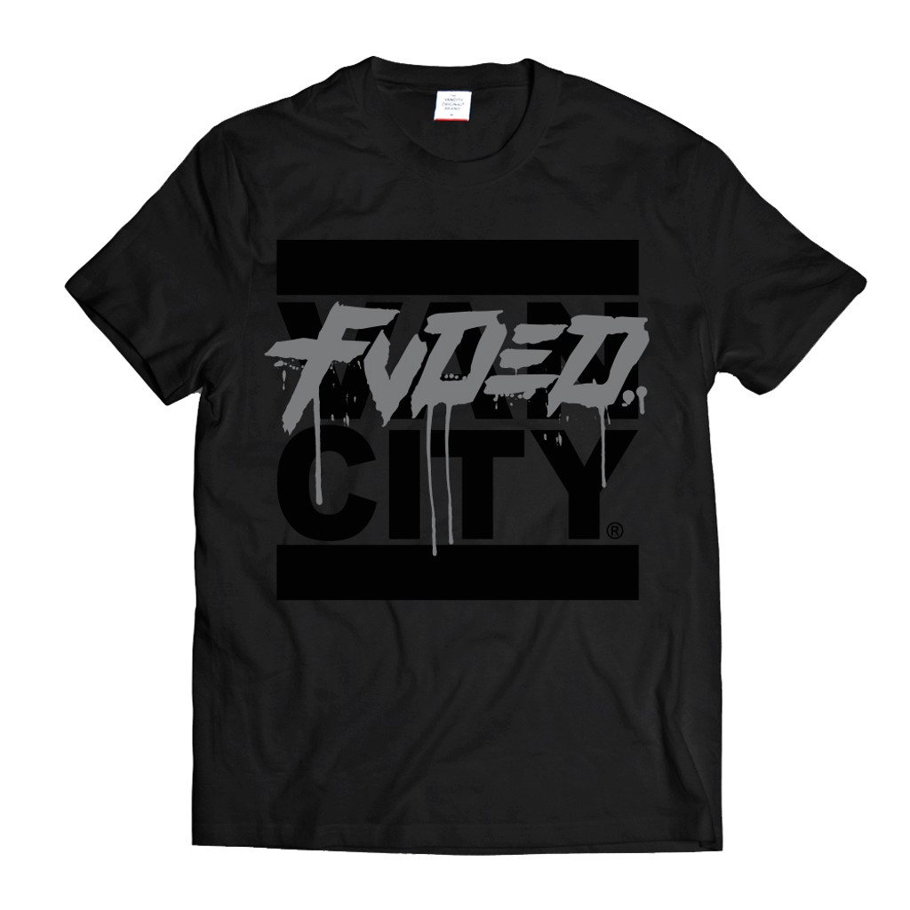 Vancity® x FVDED Get Up Tee - Black
