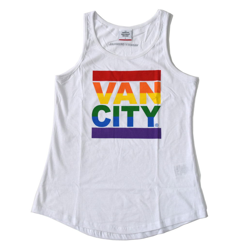 Women's Vancity® Pride Tank Top - White