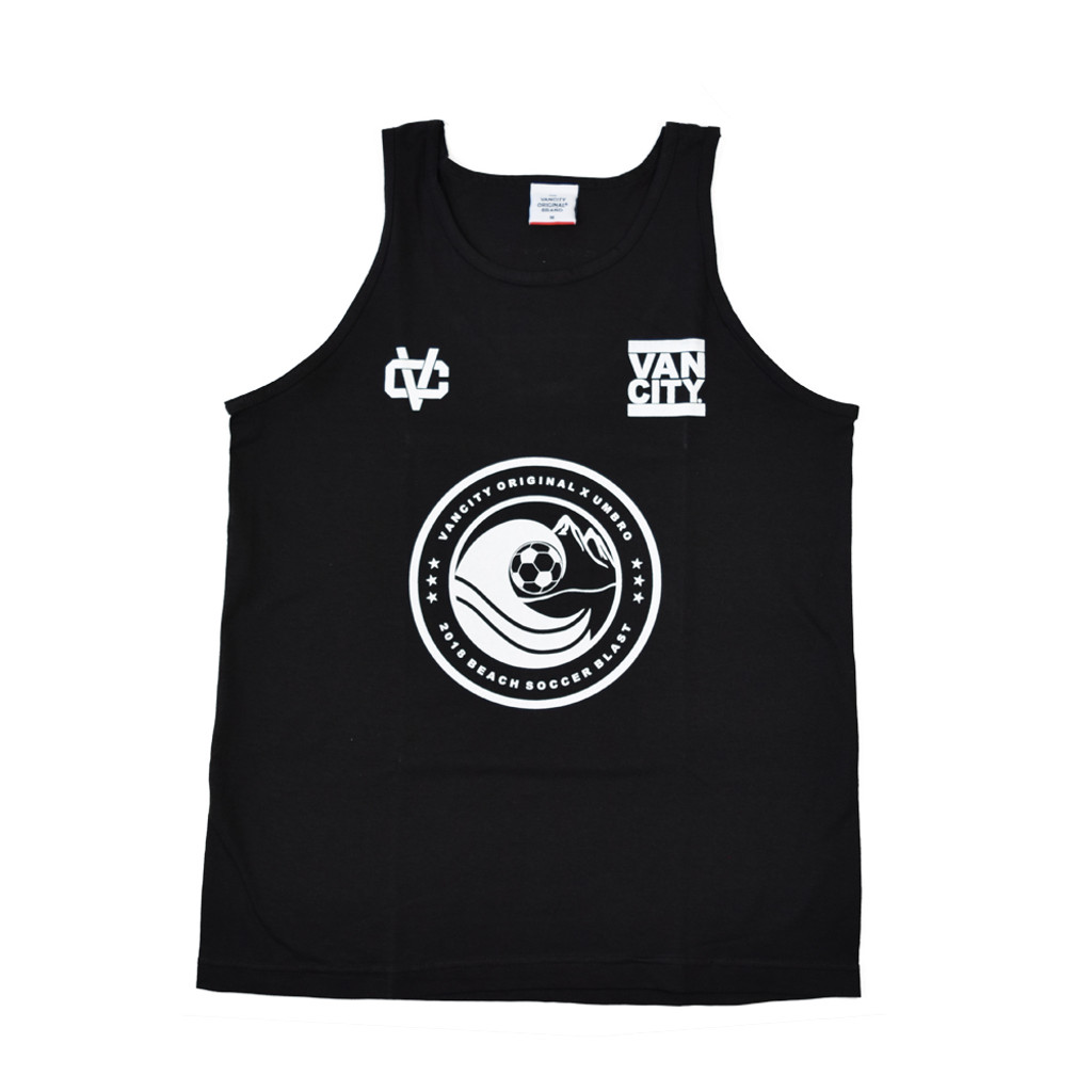 Vancity® 2018 Beach Soccer Blast Tank Top - Black