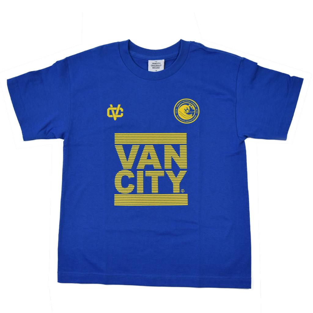 Vancity® Beach Soccer Blast Tee - Royal Blue
