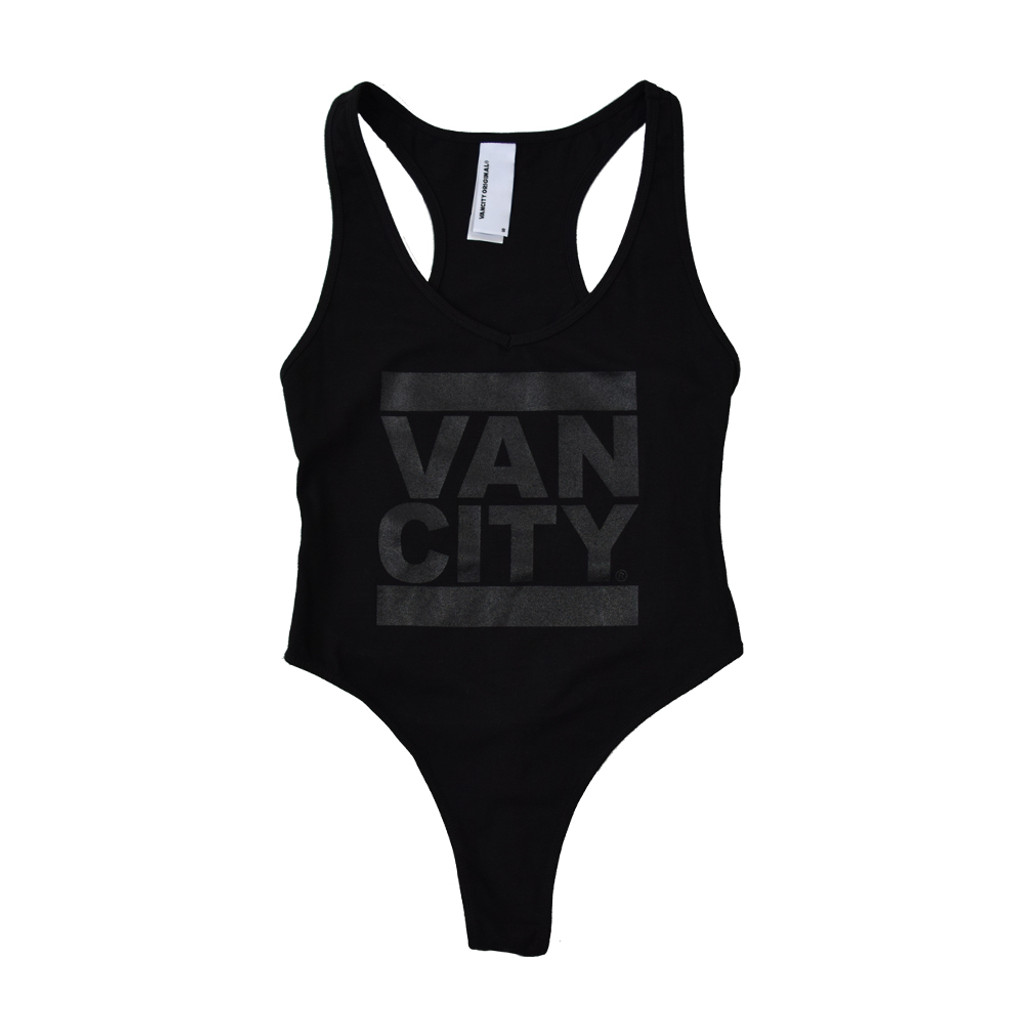 Monochrome Bodysuit - Black