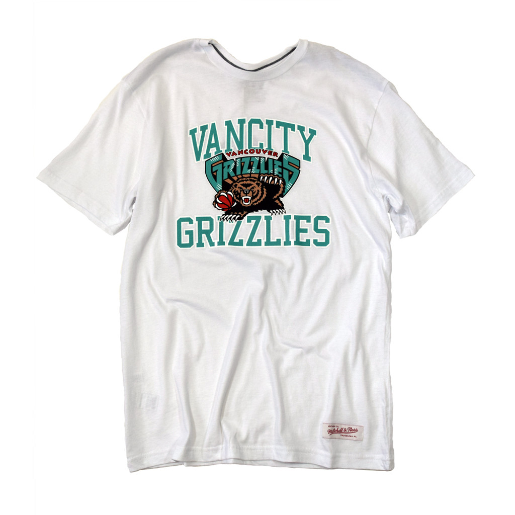 Vancity® Grizzlies Collegiate Tee - White