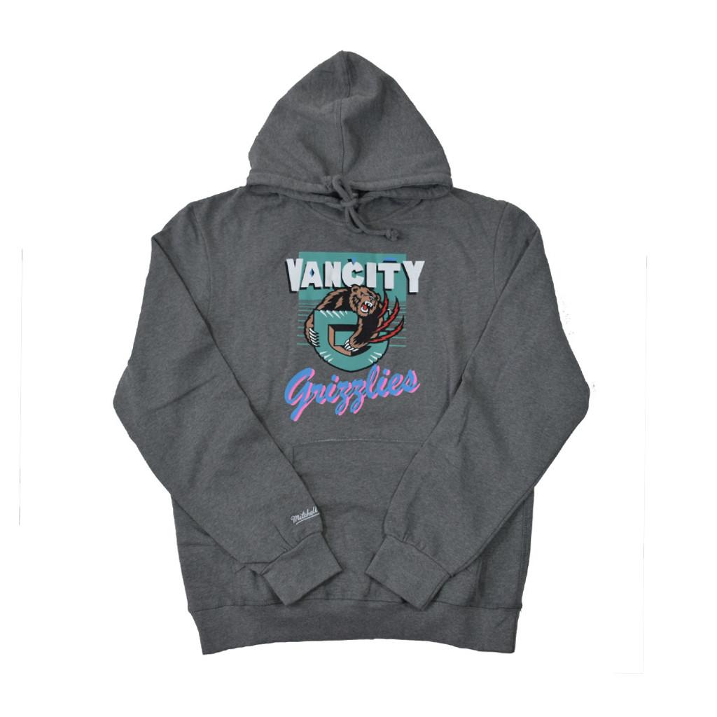Vancity® Grizzlies Vintage Hoodie - Athletic Grey