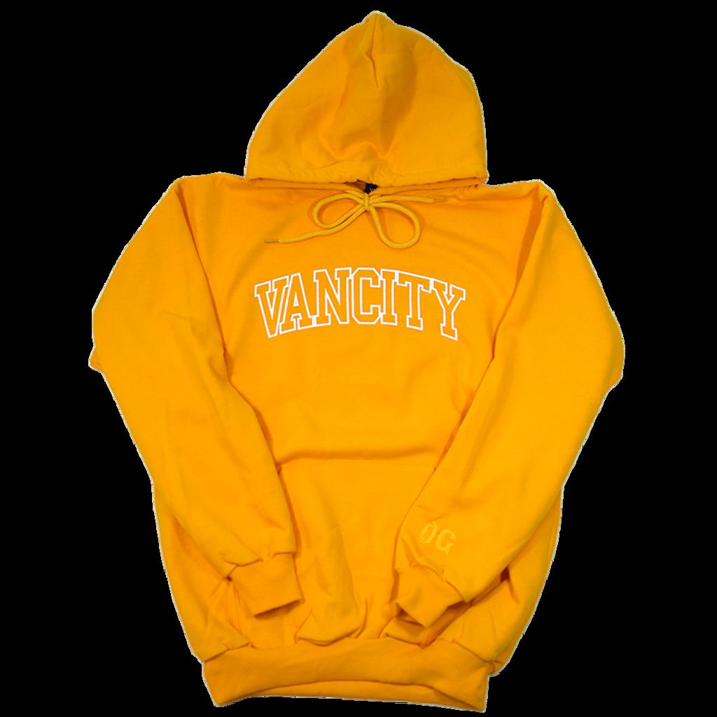 Collegiate OG Hoodie - Gold