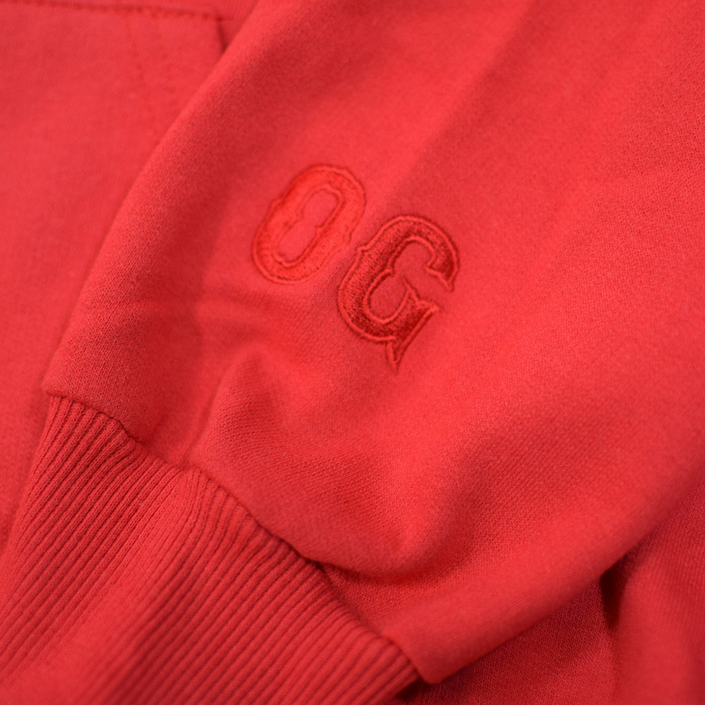 Collegiate OG Hoodie - Red