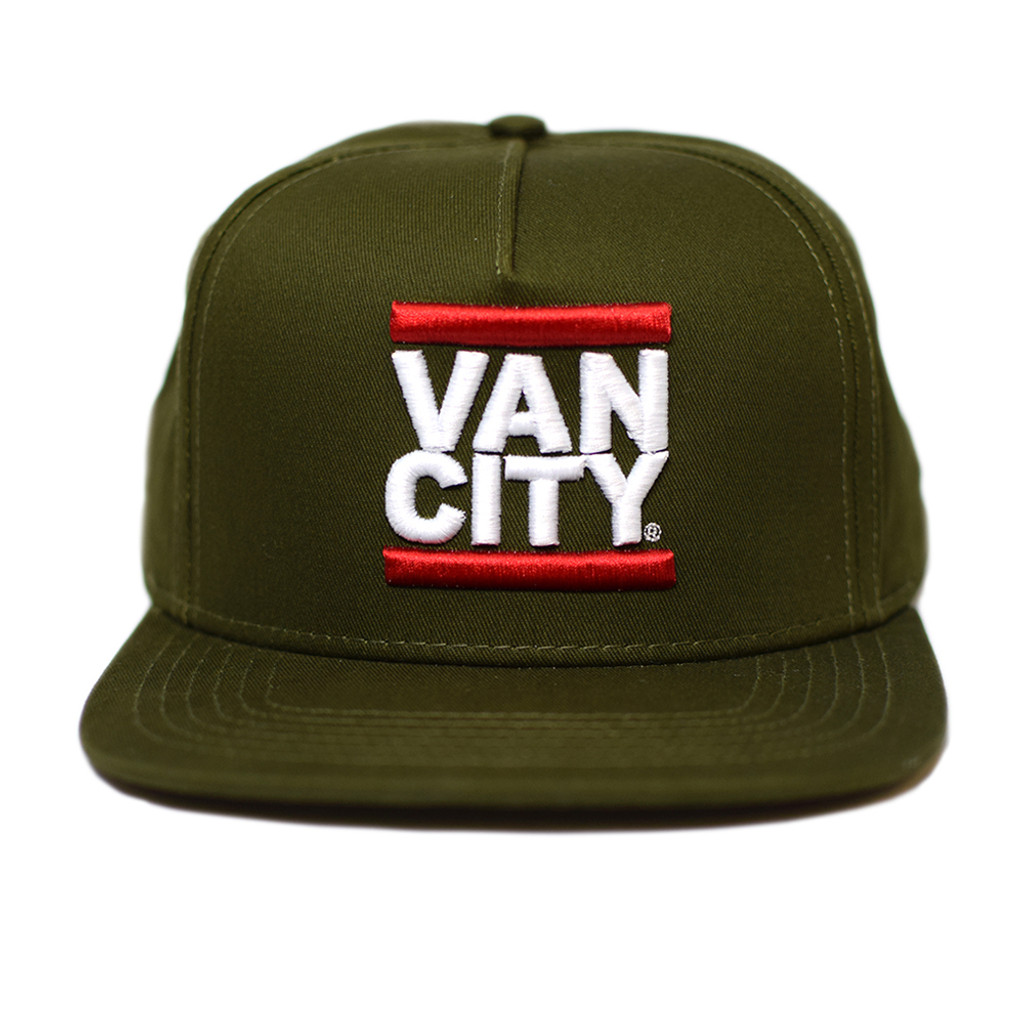 First Blood UnDMC Snapback - Army Green