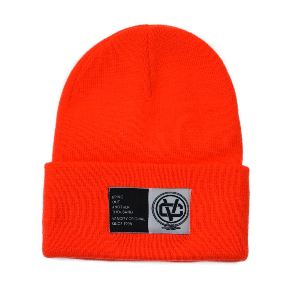 B.O.A.T. Beanie - Highlighter Orange
