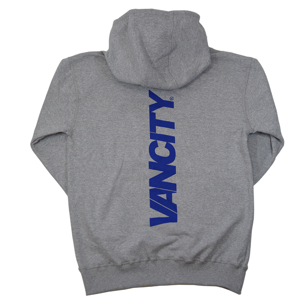 Gotcha Back Hoodie - Athletic Grey