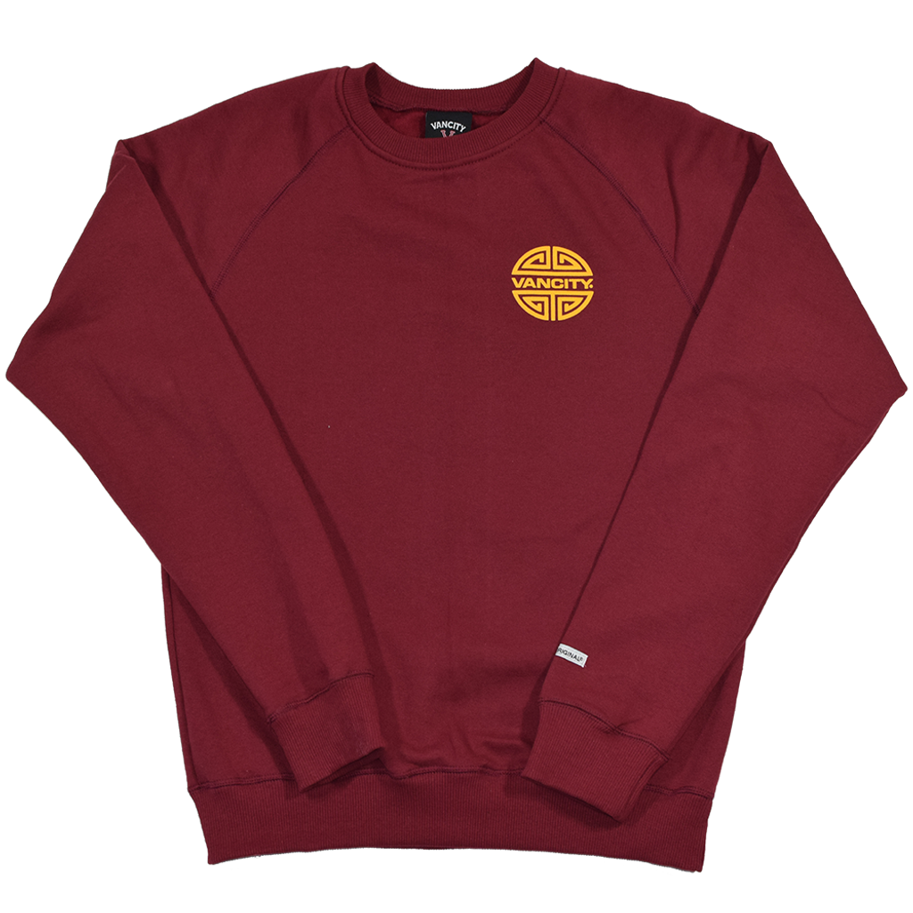 Year Of The Pig Crew - Burgundy