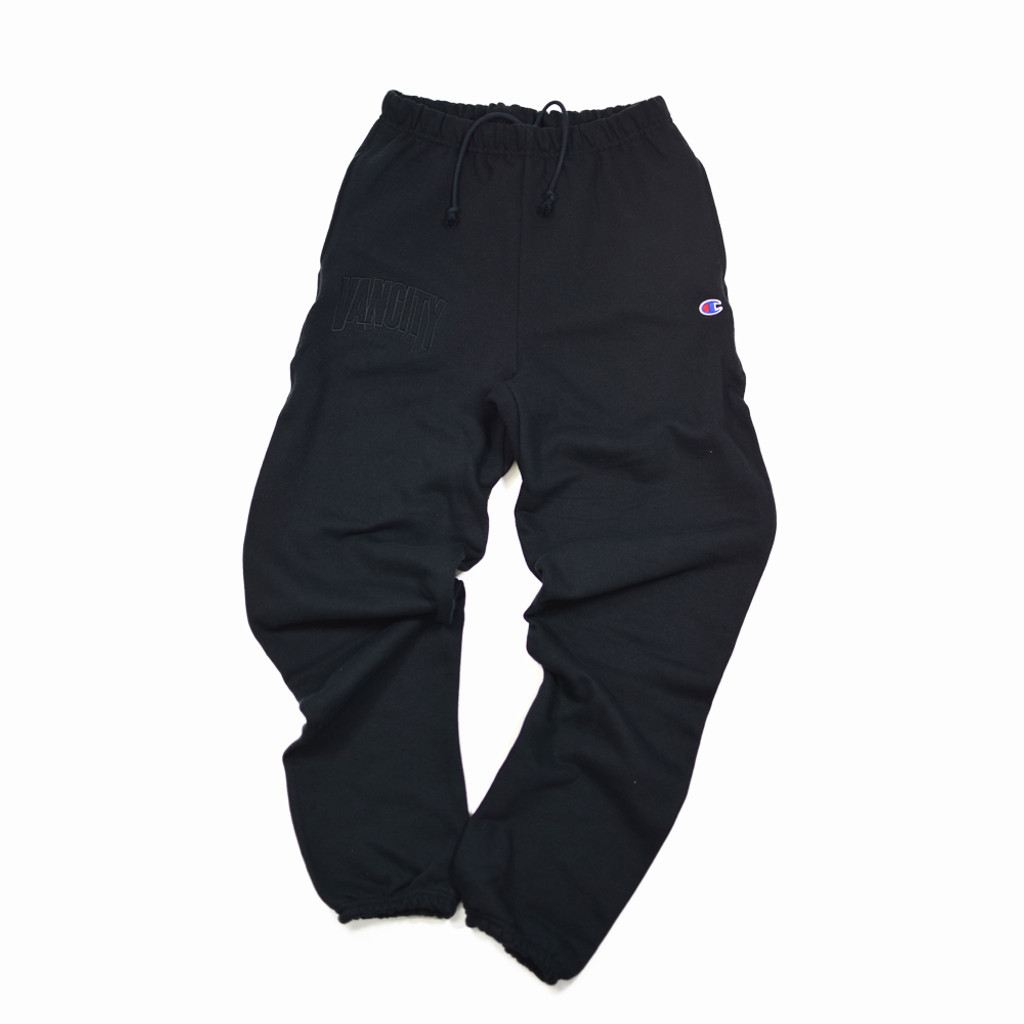 Dimensions Premium Reverse Weave Sweatpants - Black