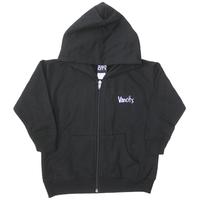 Vancity® Toddler Zip Up Hoodie - Black/Teal