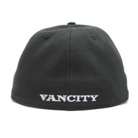 New Era VC Fitted - White on Black