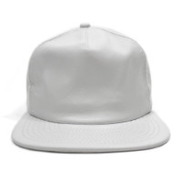 Vancity Original® x New Era Leather Vanarchy Snapback - White