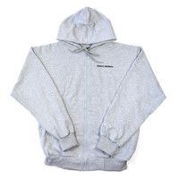 Classic UnDMC Full Zip Hoodie - Heather Grey