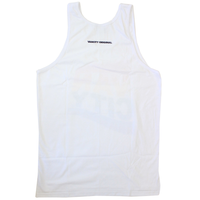 Vancity® Pride Flag Tank Top - White