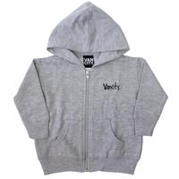 Vancity® Baby Zip Up Hoodie - Heather Grey