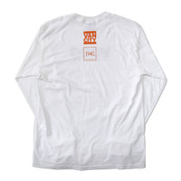 THC x Vancity® VCOG Long Sleeve Tee - White