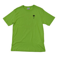 VC Beach Tee - Lime Green