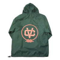B.O.A.T. Nylon Anorak - Hunter Green