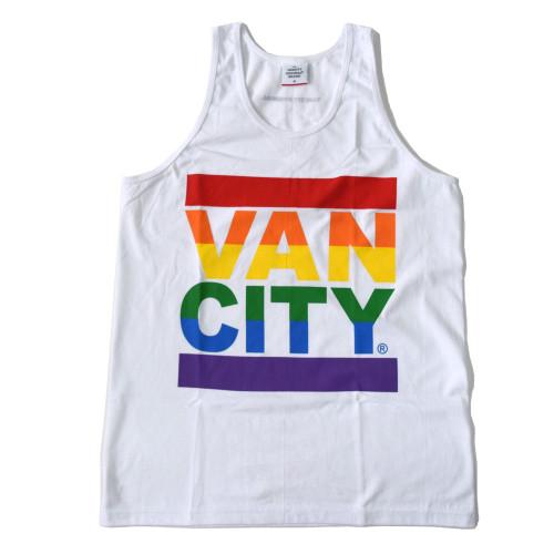 Vancity® Pride Tank Top - White