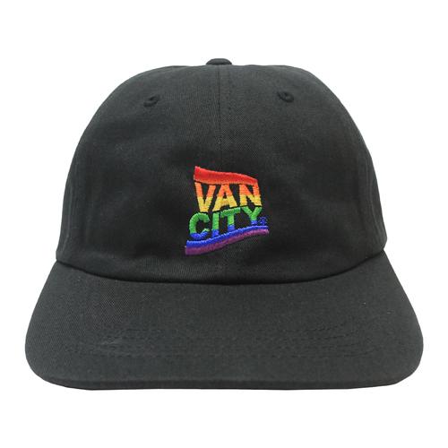 Vancity® Pride Dad Hat - Black