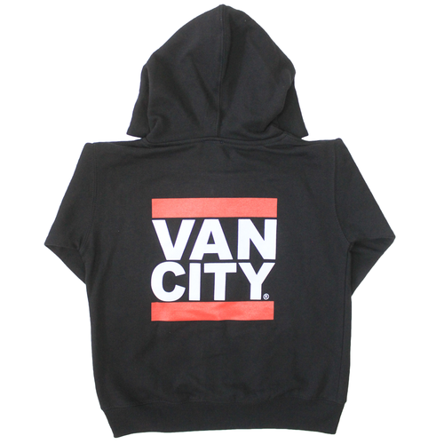Vancity® Toddler Zip Up Hoodie - Black