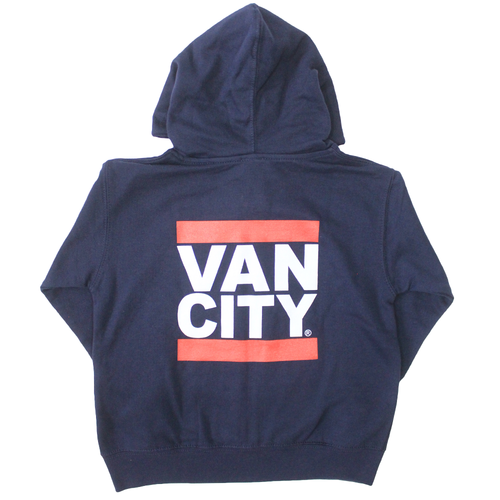 Vancity® Toddler Zip Up Hoodie - Navy