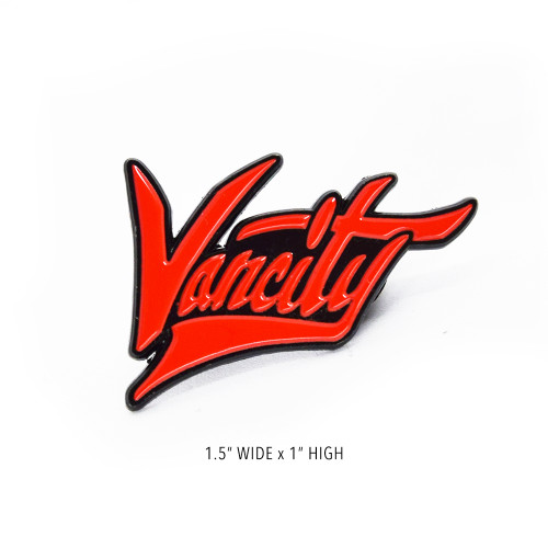 Vancity Virus Lapel Pin