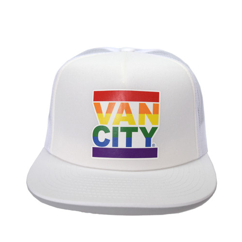 Vancity® Pride UnDMC Trucker Hat - White