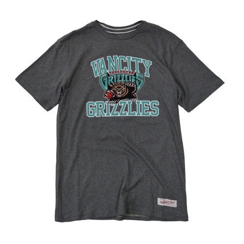 Vancity® Grizzlies Collegiate Tee - Athletic Grey