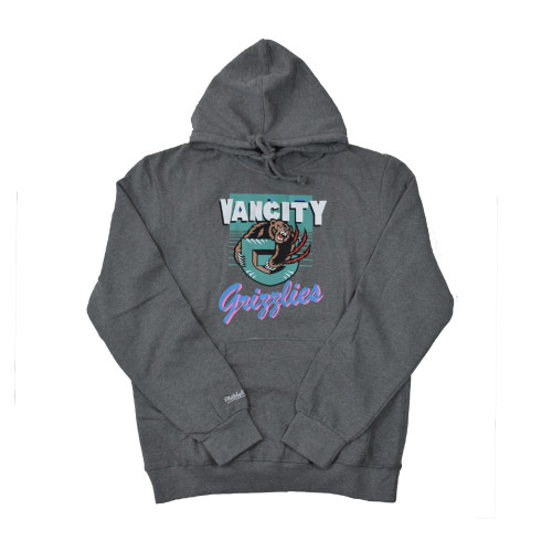 Vancity® Grizzlies Vintage Hoodie - Athletic Grey
