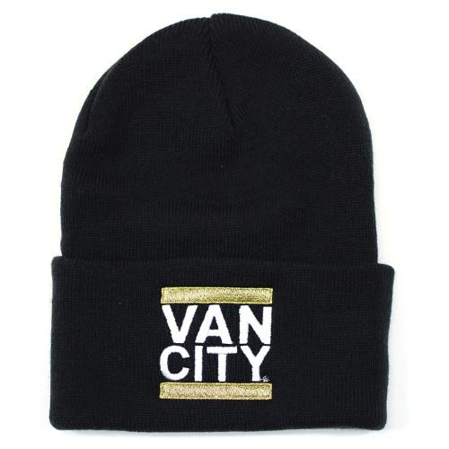 Vancity Original UnDMC Classic Beanie - Black & Gold